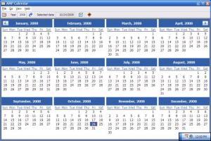 Enlarge AMP  Calendar Screenshot