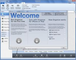 Enlarge Organize:Me Screenshot