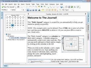 Enlarge The Journal Screenshot