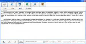 Enlarge Sayvoice Text to Speech  Reader Screenshot