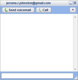 Enlarge Google  Talk Screenshot