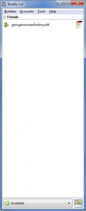 Enlarge Pidgin Screenshot