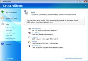 Enlarge SpywareBlaster Screenshot