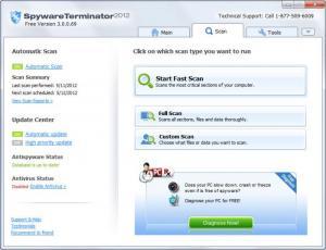 Enlarge Spyware  Terminator Screenshot