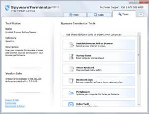 Enlarge Spyware  Terminator Screenshot