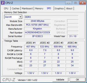 Enlarge CPU-Z Screenshot