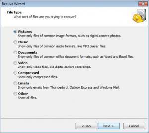 Enlarge Recuva Screenshot