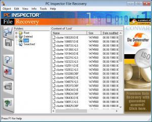Enlarge PC Inspector File  Recovery Screenshot