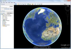 Enlarge Google  Earth Screenshot
