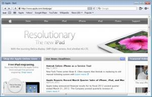 Enlarge Safari Screenshot