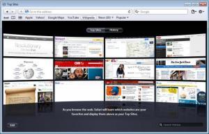 Enlarge Safari Screenshot