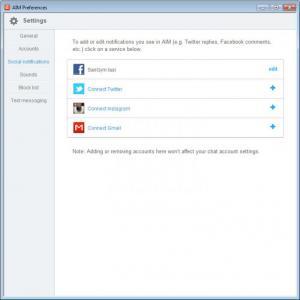Enlarge AIM Screenshot