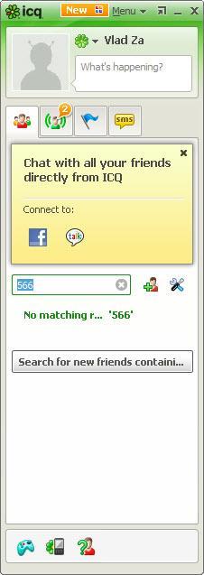 Enlarge ICQ Screenshot