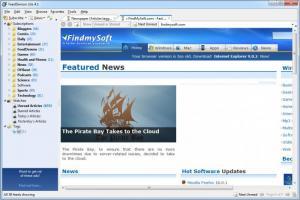 Enlarge FeedDemon Screenshot