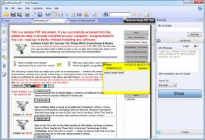 Enlarge Foxit Reader Screenshot