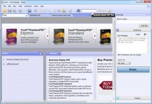 Enlarge Foxit Reader Screenshot
