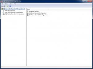 Enlarge SQL Server Express Screenshot