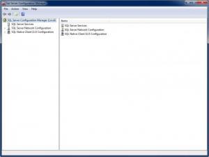 Enlarge SQL Server Express Screenshot
