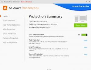 Enlarge Ad-Aware Screenshot