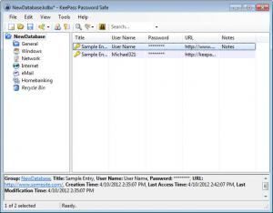 Enlarge KeePass Password Safe Pro Screenshot