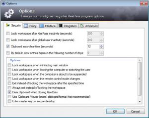 Enlarge KeePass Password Safe Pro Screenshot