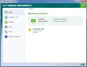 Enlarge ESET NOD32 Antivirus Screenshot