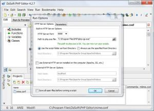 Enlarge DzSoft PHP Editor Screenshot