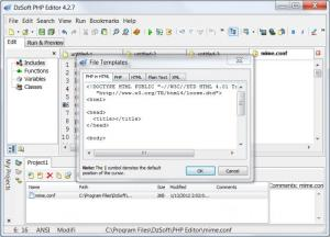 Enlarge DzSoft PHP Editor Screenshot