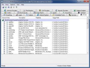 Enlarge Autoruns Screenshot