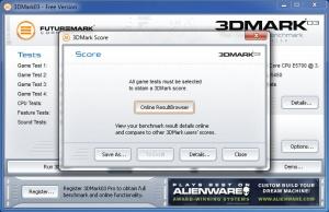 Enlarge 3DMark 03 Screenshot