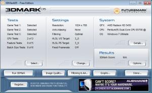 Enlarge 3DMark 05 Screenshot