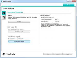 Enlarge Logitech SetPoint Screenshot