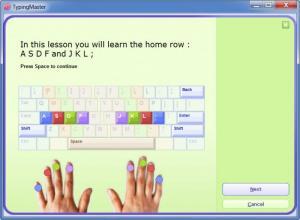 Enlarge TypingMaster Screenshot