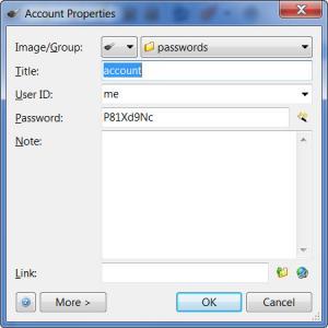 Enlarge Password Agent Screenshot