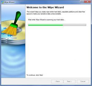 Enlarge Paragon Disk Wiper Screenshot