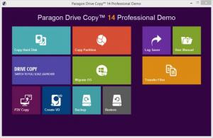 Enlarge Paragon Drive Copy Screenshot