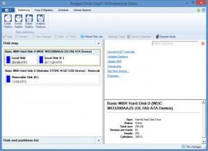 Enlarge Paragon Drive Copy Screenshot