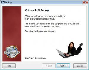 Enlarge EZ Backup Excel Basic Screenshot