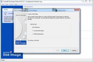 Enlarge Active@ Disk Image Pro Screenshot
