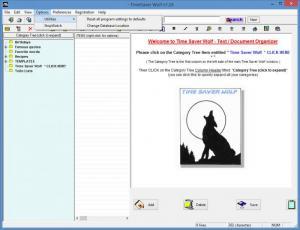 Enlarge Time Saver  Wolf Screenshot