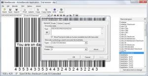 Enlarge ActiveBarcode Screenshot