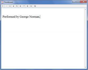 Enlarge Pasteboard Screenshot