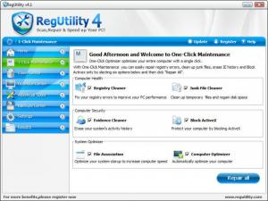 Enlarge RegUtility Screenshot