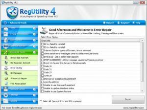 Enlarge RegUtility Screenshot