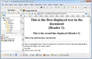 Enlarge RJ TextEd Screenshot