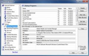 Enlarge Browser Sentinel Screenshot