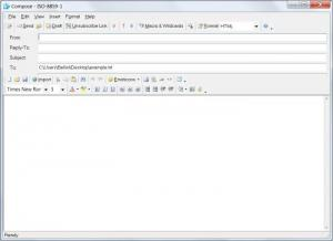 Enlarge Handymailer Screenshot