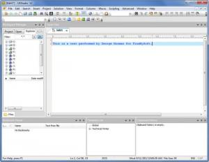 Enlarge UEStudio Screenshot