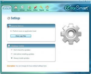 Enlarge ErrorSmart Screenshot