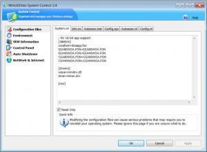 Enlarge WinUtilities Pro Screenshot